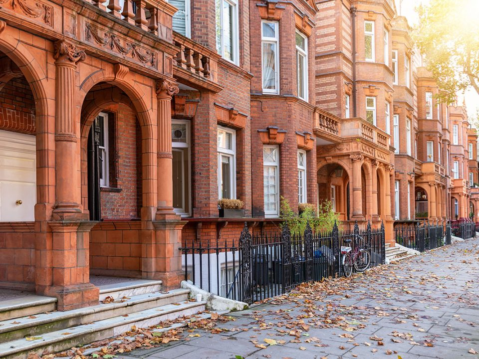 Property price trends, houses in Kensington & Chelsea